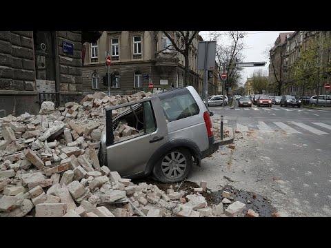 Ισχυρός σεισμός στο Ζάγκρεμπ – Πανικός στους κατοίκους