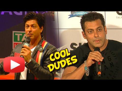 Shahrukh Khan thinks that Salman khan is The Cool