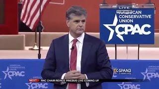 Sean Hannity Tells A VERY Creepy Joke At 2015 CPAC