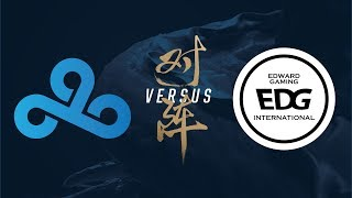 Video C9 vs. EDG | Group Stage Day 3 | 2017 World Championship | Cloud9 vs Edward Gaming MP3, 3GP, MP4, WEBM, AVI, FLV Agustus 2018