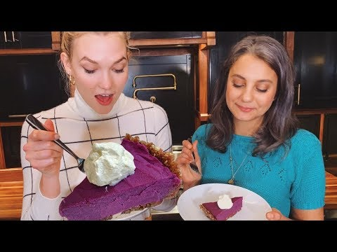 Sweet Potato Pie | Kloss Learns to Cook