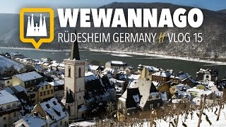 Rudesheim am Rhein Germany  city photos gallery : Exploring Rüdesheim on the Rhein River in Germany // Round the World Travel // WeWannaGo TV
