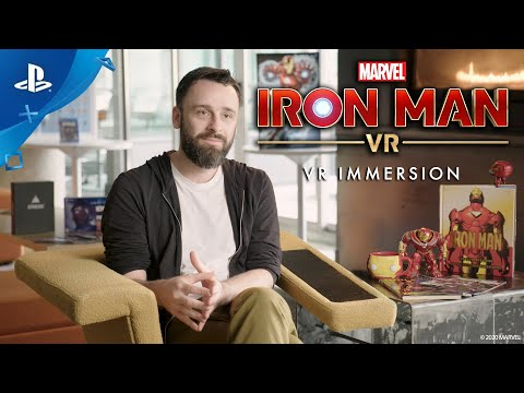 Marvel's Iron Man VR : VR Immersion (Behind the Scenes)