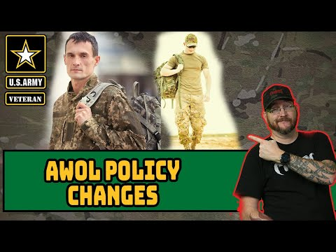 Changes to AWOL status in the Army