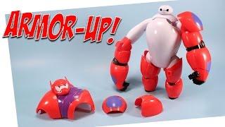 Big Hero 6 Armor-Up Baymax Toy Opening BanDai
