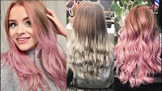 Video HAIR TRANSFORMATION (1 Year of root growth to Pink Balayage) | sophdoesvlogs MP3, 3GP, MP4, WEBM, AVI, FLV April 2018