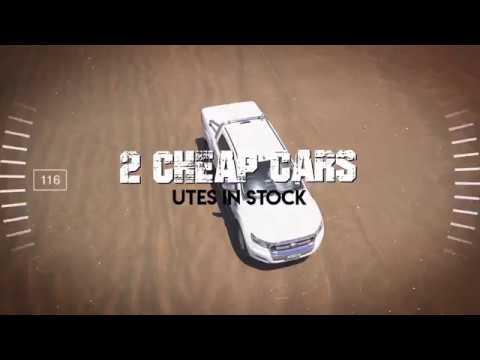 2 Cheap Cars Utes