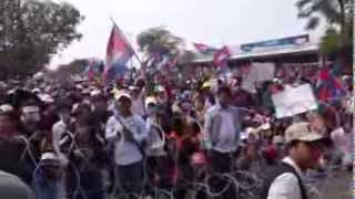 Khmer Documentary - Meach Sovannara's Speech to the Protest at Freedom Park