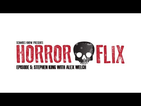 HorrorFlix – Ep #5: Stephen King Films With Alex Welch
