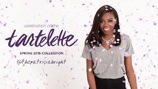 Meet tartelette Patricia: Natural Beauty