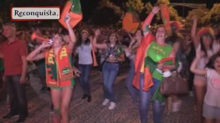 Castelo Branco Portugal  city photos : Portugal campeão da Europa. A festa em Castelo Branco