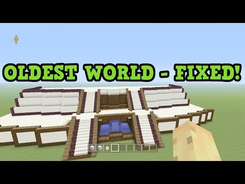 Minecraft Xbox One - MY FIRST WORLD IS FIXED! World Tour (видео)