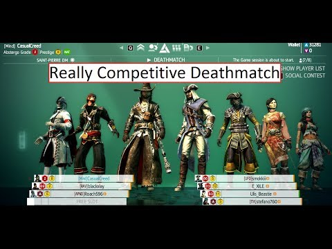 Arguably the most competitive AC4 DM lobby on youtube part 1