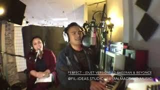 Video Perfect- (Duet Version) Ed Sheeran & Beyonce Cover by Bryan & Angel Ram MP3, 3GP, MP4, WEBM, AVI, FLV Juni 2018