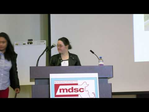 Watch video Down Syndrome Self Advocates: Melissa Reilly -intro by Kathy Healy Norton