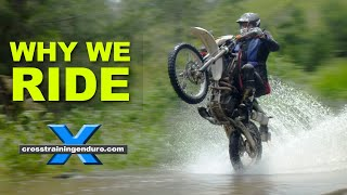 Video WHY WE RIDE: mid-life crisis philosophy & motorbike riding MP3, 3GP, MP4, WEBM, AVI, FLV Juli 2018