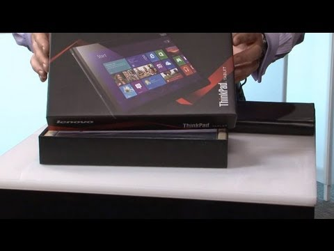 Lenovo Unboxed: ThinkPad Tablet 2