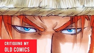 """Watch me analyze and critique my old comic  manga books and talk about things I would do differently today.BUY APPLE BLACK MANGA, VOLUME ONE:http://www.amazon.com/Apple-Black-Vol-Volume/dp/069235137XAPPLE BLACK OFFICIAL WEBSITE: http://www.saturday-am.com/appleblackREAD APPLE BLACK HERE FREE [ONLY FIRST 4 CHAPTERS]: http://www.saturday-am.com/apple-black-chapter-1http://www.saturday-am.com/apple-black-chapter-2http://www.saturday-am.com/apple-black-chapter-3http://www.saturday-am.com/apple-black-chapter-4INSTAGRAM:  http://www.instagram.com/WhytMangaFACEBOOK:    http://www.facebook.com/WhytMangaTWITTER:        http://www.twitter.com/WhytMangaDEVIANTART: http://www.odunze.deviantart.comGet 10% OFF Anime, Geek and Gamer etc gear and purchases on Lootcrate by visiting http://www.lootcrate.com/whytmanga using the promo code:whytmangaSUBSCRIBE TO THE SATURDAY-AM MAGAZINE, $5/YEAR! https://gumroad.com/a/912077939MY MANGA TOOLS:Deleter G-pen, Deleter Type A B4 Comic book Paper, Deleter type 6 ink, Manga Studio 5, Clip Studio Paint, Photoshop, SAI, Mechanical Pencils, Erasers, Curves, Rulers, Brushes, Water Color, Copic Markers Ciao 72 B, Copic Marker Sketch 72 A, Skin Tone Copic Markers, White pigment Signo pen, Pentel Brush Pen, Copic Refills, Mustek A3 Pro 1200 USB Scanner, Pen Tablets, Screentones and Pizza.This Channel is about my journey to become a professional comic/manga artist. I will document all the goods and the bads showing my process in making my main dream manga  comic """"Apple Black"""" serialized on Saturday-AM. NEW VIDEOS every Saturday! [mornings].TAGS: Shonen, Jump, Saturday-AM, magazine, Naruto, Boruto, Dragon Ball, Z, One punch man, attack on titan, my hero academia, boku, no hero, clover, views, subscribers"""