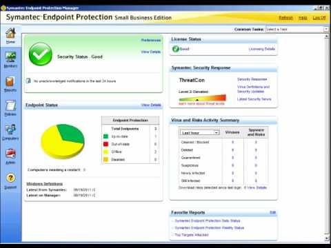Symantec EndPoint Antivirus - How to configure LiveUpdate??