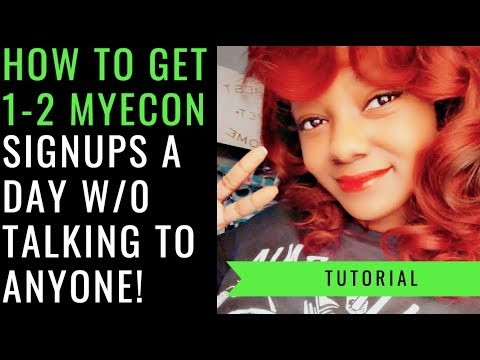 💰MyEcon Review | How to Get 1- 2 Sign Ups a Day w/o Talking to Anyone!🙅‍♀️
