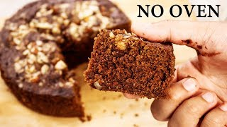 Chocolate Biscuit Cake -  3 Ingredient Eggless No Oven Bake Recipe- CookingShooking