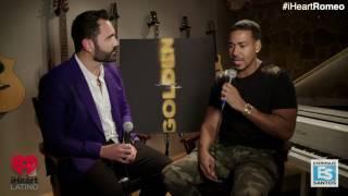Enrique Santos entrevista a Romeo Santos. Hablan de su nuevo album Golden.