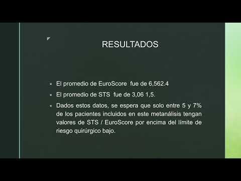 TAVI vs cirugía de reemplazo valvular aórtico. Dra. María Laura Estrella. Residencia de Cardiología. Hospital C. Argerich. Buenos Aires