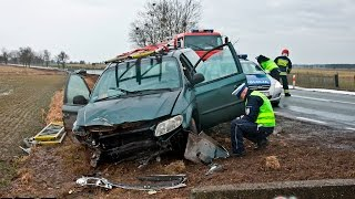 Film do artykułu: Chrysler uderzył w przepust...