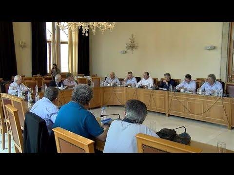 Συνεδρίαση της Περιφερειακής Ένωσης Δήμων Κρήτης  με αντικείμενο το προσφυγικό