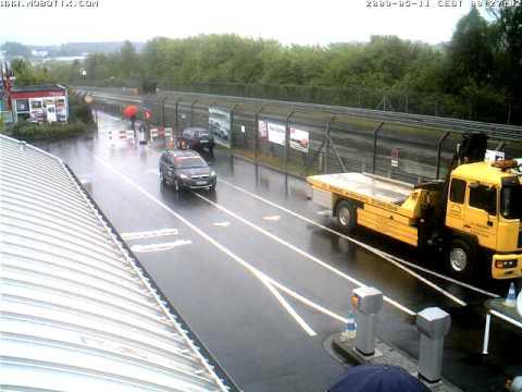 Nurburgring Webcam Timelapse taken 11th May 2009
