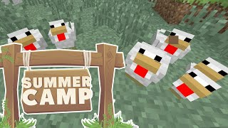 Minecraft | SUMMER CAMP! - CHICKEN DAY! [5]