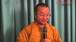 Tâm Thức Học Phật giáo 01 - Giới Thiệu Bao Quát - TT.Thích Nhật Từ