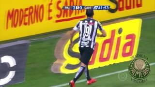 Segundo jogo da Final da Copa do Brasil 2015, Palmeiras 2 x 1 Santos, Palmeiras campeão nos pênaltis.