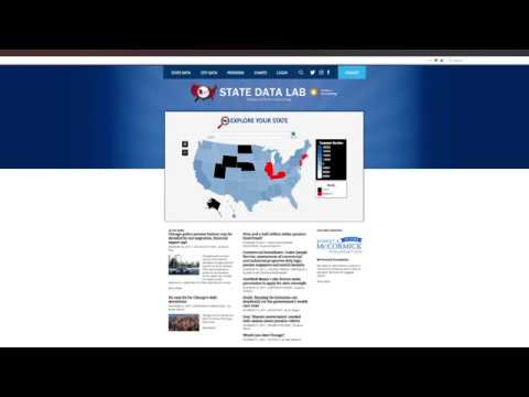 How to compare states and make charts in State Data Lab