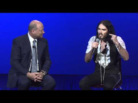 Smile! Russell Brand Interviews Renowned Quantum Physicist Dr. John Hagelin