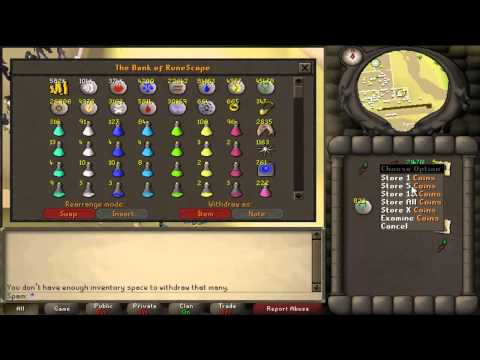 runescape bank - Hey guys, Thanks everybody for subscribing and your continued support. I hope you've all had a great Summer and are still enjoying the oldschool servers, if ...