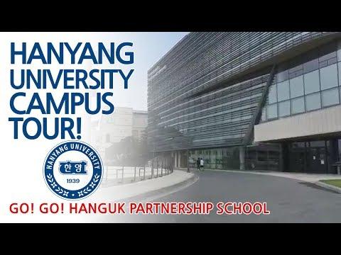Hanyang Uni. Campus Tour and AMA #10 - Go! Go! Hanguk Live Show