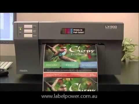 Primera LX900 by Label Power