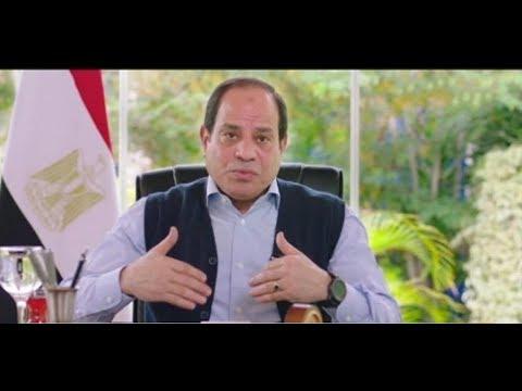 شعب ورئيس كامل - وتصريحات هامة جداا والرئيس عبد الفتاح السيسي يرد على أسئلة