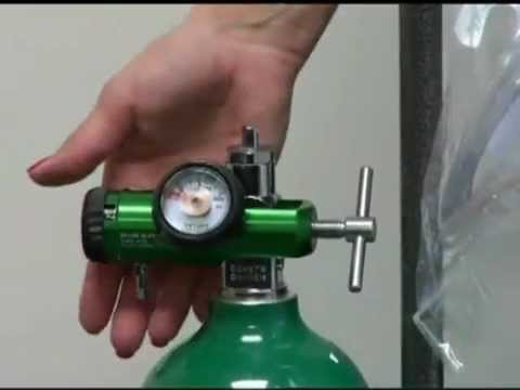 How to set up your oxygen E tank