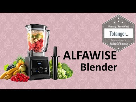 Alfawise Blender Mixeur Smoothie Multifonctionnel 2000W - 8 lames ( NY-8188MJA220 )