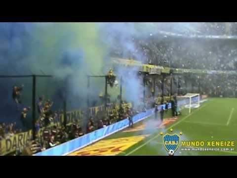 La fiesta de la hinchada de Boca /Boca 1 - River 1 /T.Final 2013 - La 12 - Boca Juniors