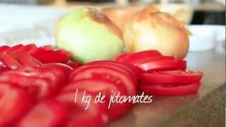 Cómo hacer chutney de manzana y jitomate