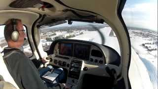 Winter Fun in a Cirrus SR22