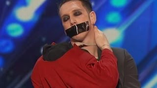 Download Video SILLIEST ACT EVER - America's Got Talent 2016 - Tape Face MP3 3GP MP4