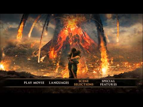 Pompeii (2014) Blu-ray Menu Preview