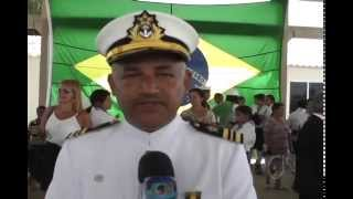 Os bravos marinheiros do Brasil comemoram a data que referencia o dia do Marinheiro, comemorado no dia 13 de Dezembro.