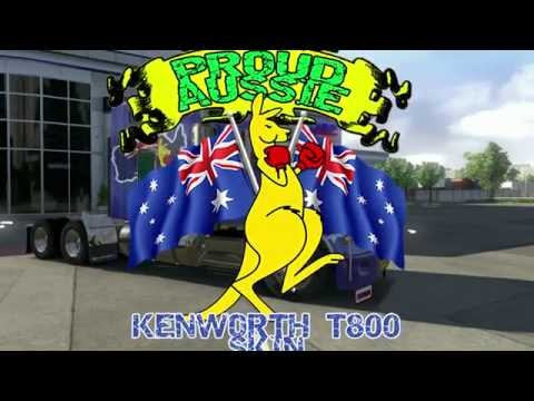 Aussie Skin for Kenworth T800 v2.1 FINAL