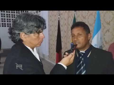 Entrevista com a deputada Camila Toscano e com o vice prefeito Genilson Dutra em Cuité de Mamanguape