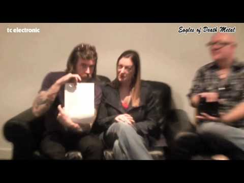 Jesse Hughes and Dave Catching (Eagles Of Death Metal) on the Nova Drive